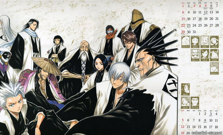 Bleach 2005 Calendar image by Tite Kubo