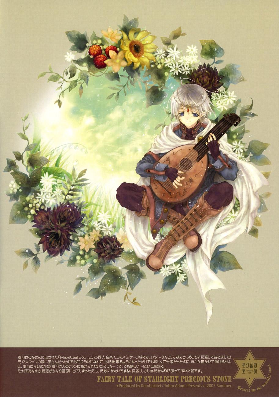 Fairy Hearts 2: Fairy tale of Starlight precious stone image by Tohru Adumi