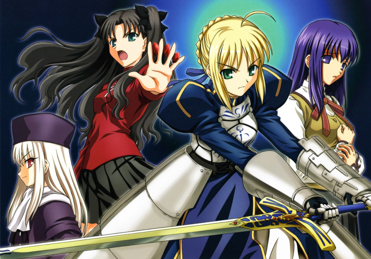 Fate/Stay Night visual collection image by Type-Moon