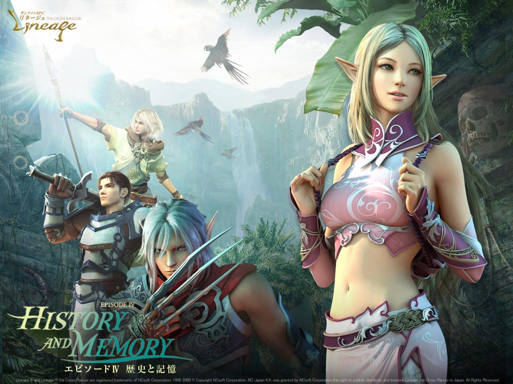 Lineage image by NCsoft Corporation