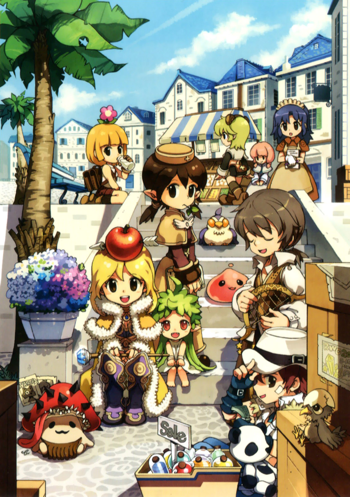 Ragnarok Online 5th anniversary memorial book image by Various Artists
