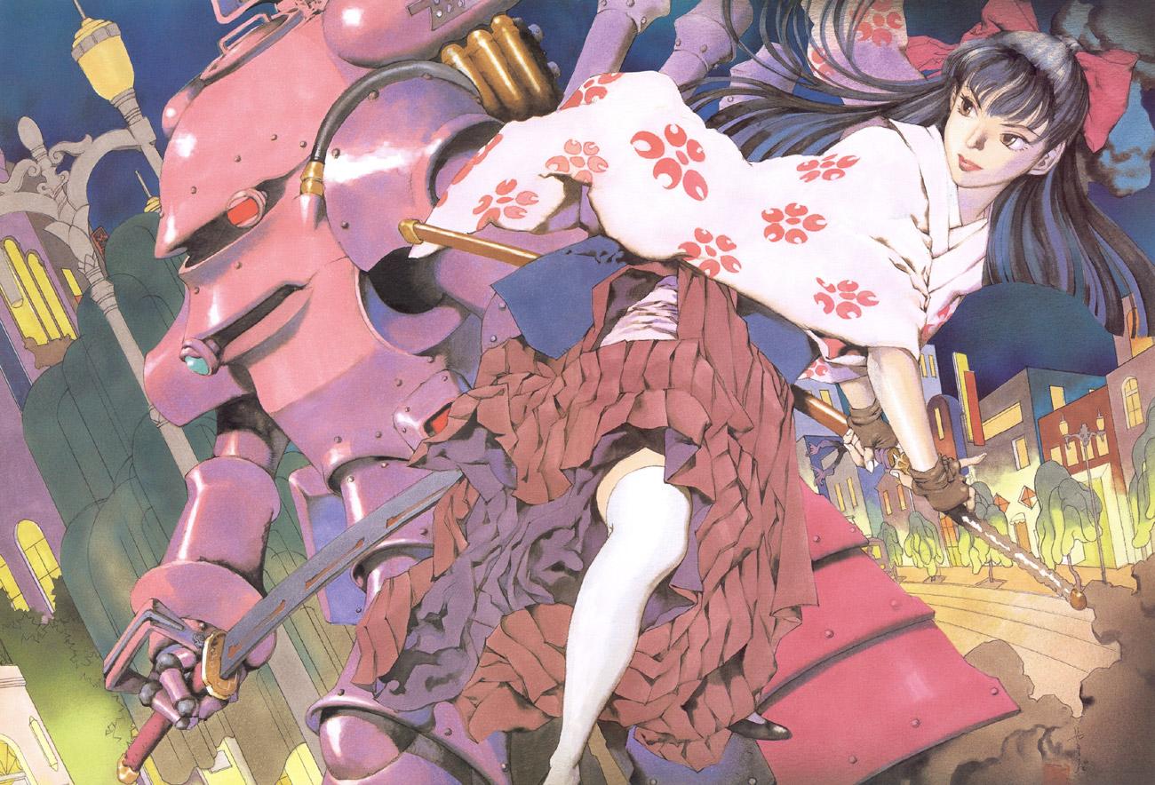 Sakura Wars illustrations: the Origin + Tribute image by Yamada Akihiro