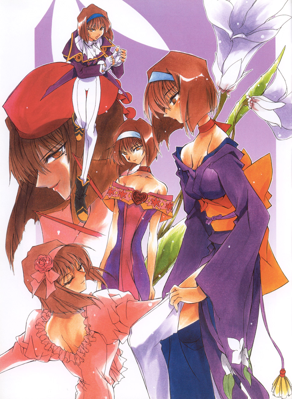 Sakura Wars illustrations: the Origin + Tribute image by Ogawa Masashi