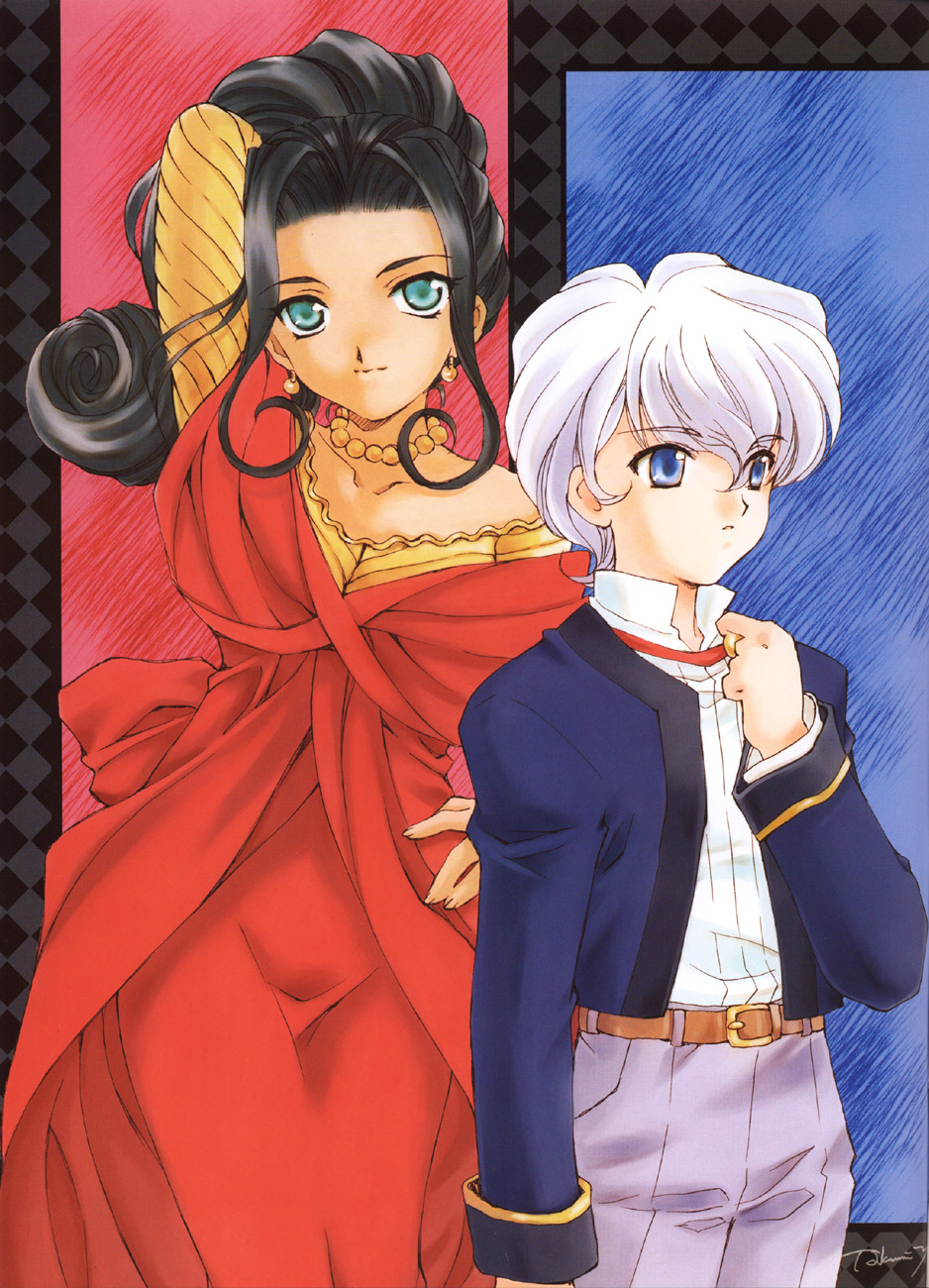 Sakura Wars illustrations: the Origin + Tribute image by Yano Takumi