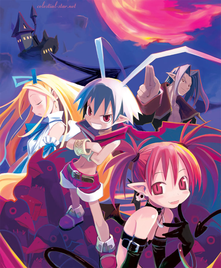 Disgaea character collection image by Takehito Harada