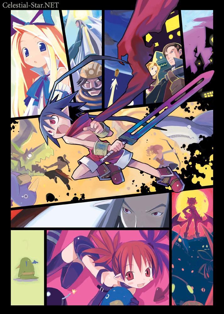 Disgaea character collection image by Takehito Harada