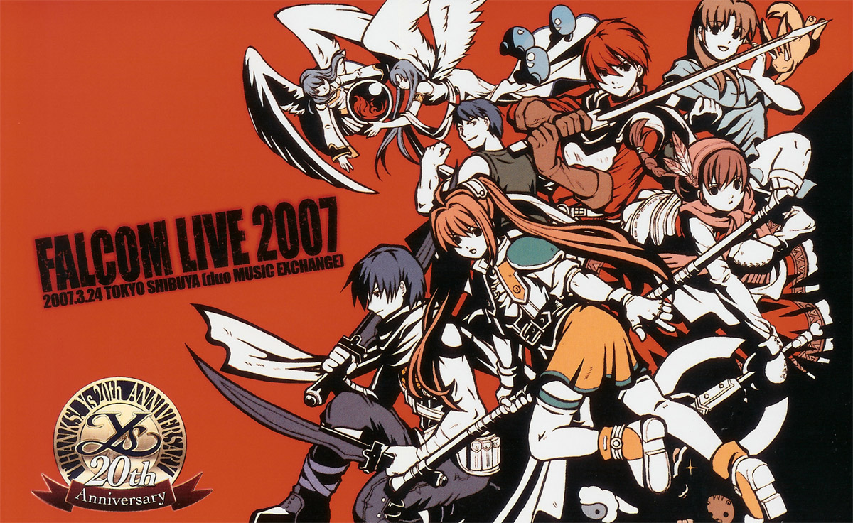 Falcom 2007 Calendar image by Falcom