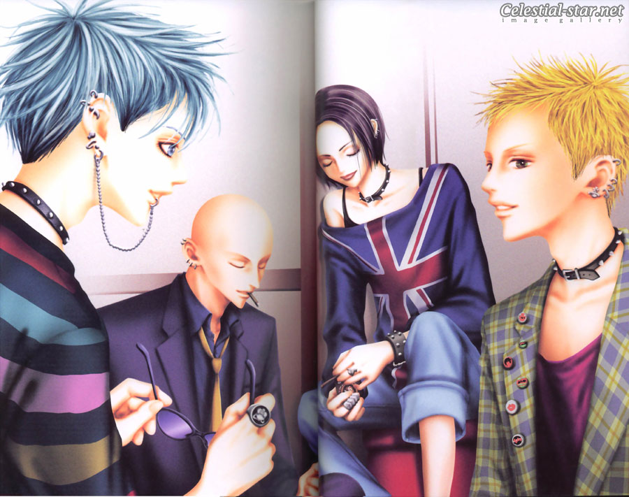 Nana 1st Illustrations image by Ai Yazawa
