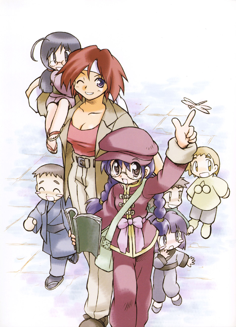 Sakura Wars illustrations: the Origin + Tribute image by Sasaki Ryo