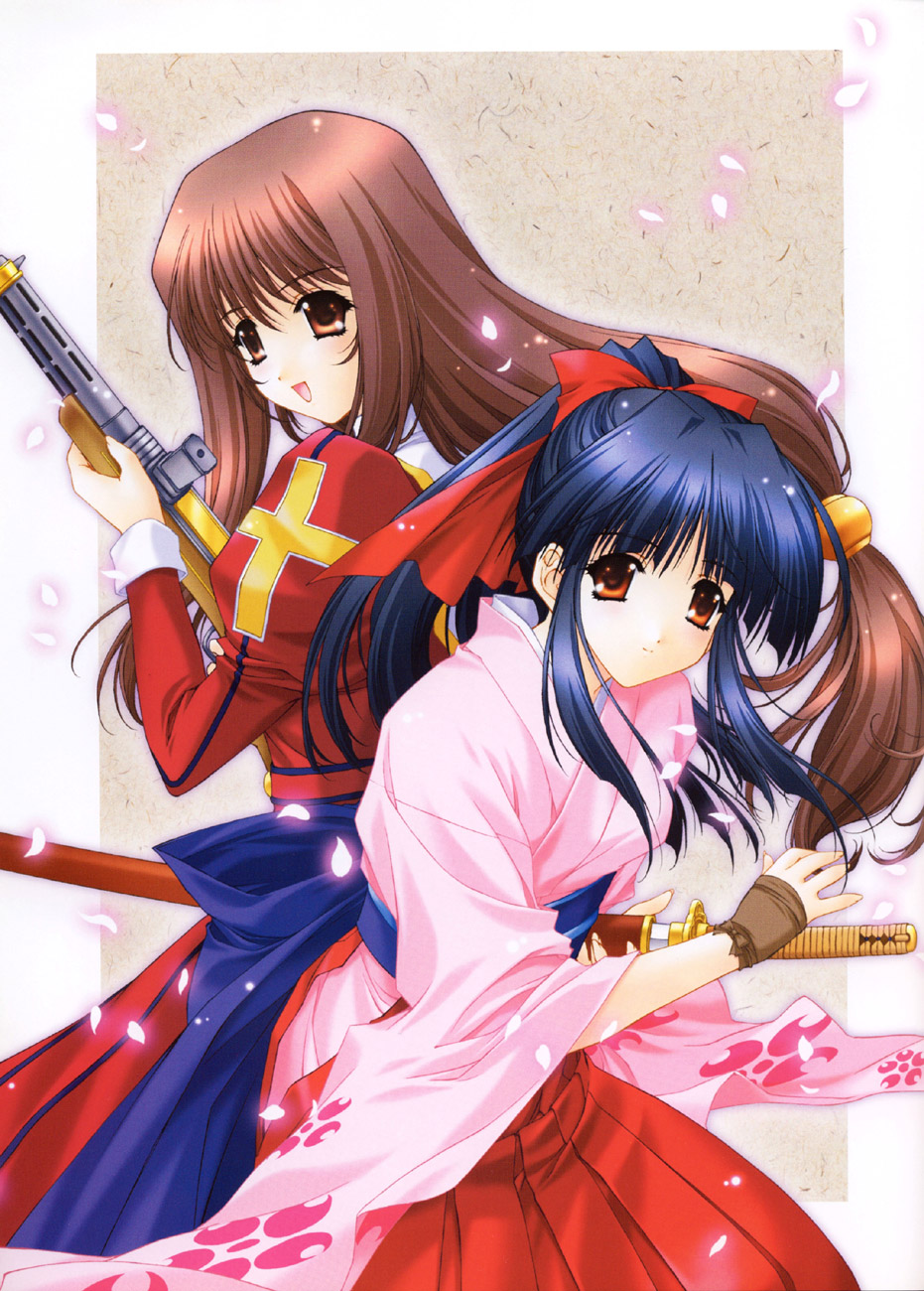 Sakura Wars illustrations: the Origin + Tribute image by Kimizuka Aoi